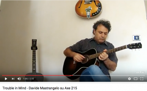 Davide Mastrangelo - Trouble In Mind -